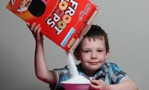 nutricion cereal de caja
