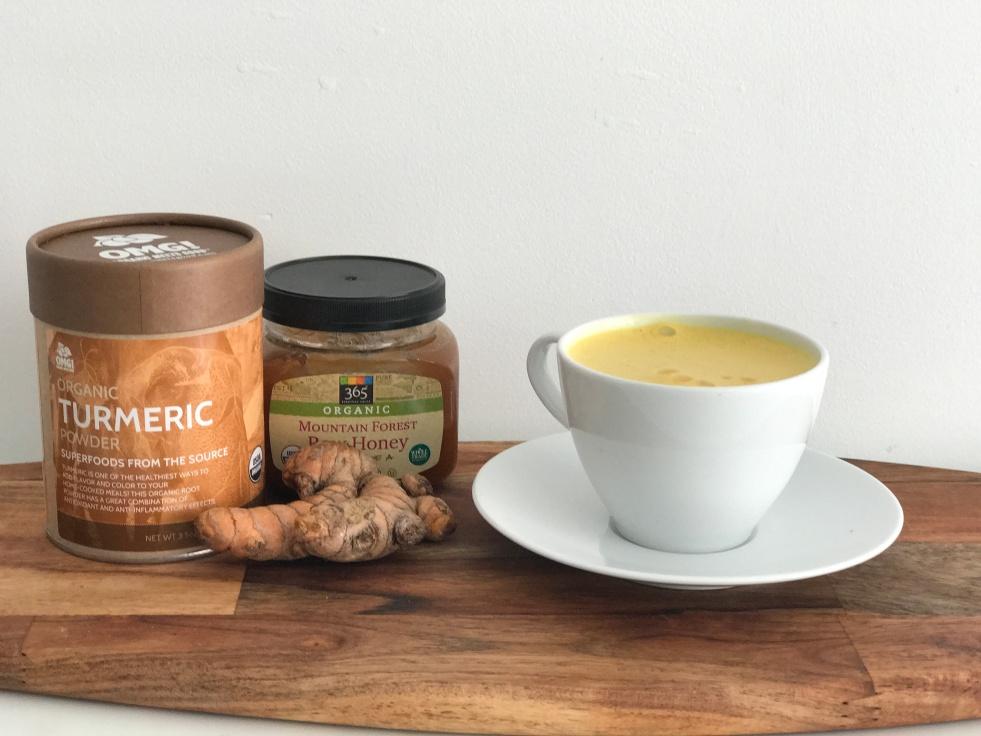 Bienestar leche dorada curcuma